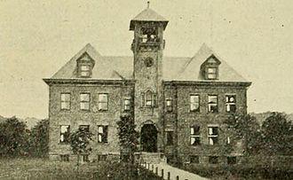 Elise Mercur - Economy, Pennsylvania, 4th ward school, 1904, Architect Elise Mercur Wagner