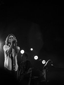 Eddie Vedder and Pearl Jam live in Berlin September 2006.jpg