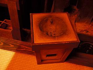 Shichirin - Image: Edo personal stove 02
