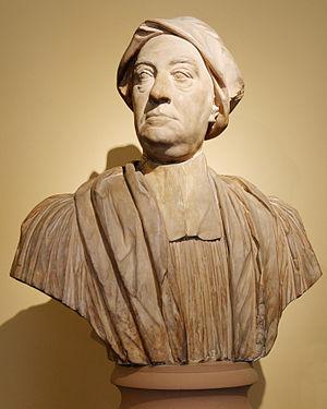 Edward Finch (composer) - Edward Finch, bust by John Michael Rysbrack