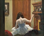 Edward Hopper, New York Interior, c. 1921 1 15 18 -whitneymuseum (40015892594).jpg