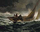 Edward Moran - Riding out a Gale - 1925.12.1 - Smithsonian American Art Museum.jpg