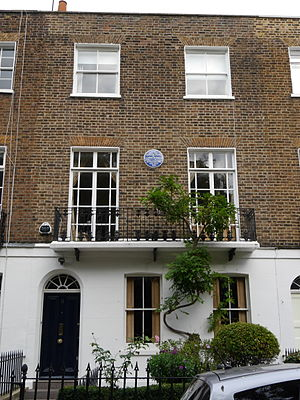 Goldsworthy Lowes Dickinson - 11 Edwardes Square, London W8, Dickinson's London home