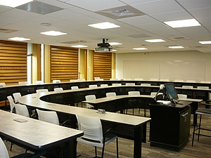 Edwards School of Business - Typical classroom