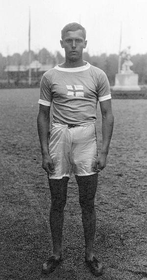 Athletics pentathlon - Eero Lehtonen, Olympic pentathlon champion in 1920