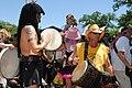 Eeyore birthday 2010 Drummers.jpg