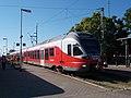 Eger railway station, Eger, 2016 Hungary.jpg