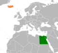 Egypt Iceland Locator.png