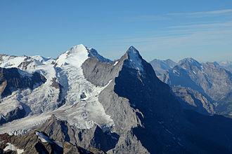 Émile Rey - The Mittellegi ridge on the Eiger