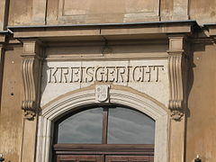 Eingang Kreisgericht Freital 2012.JPG