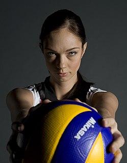 Yekaterina Gamova Russian volleyball player
