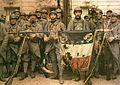 El 114 de infantería, en París, el 14 de julio de 1917, León Gimpel.jpg