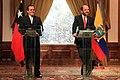 El Ministro de Relaciones Exteriores, Eco. Ricardo Patiño preside la III Reunión del Consejo Interministerial Binacional Ecuador – Chile (7652149462).jpg