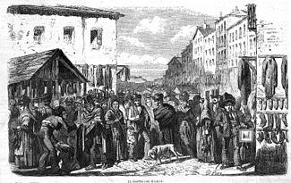 El rastro de madrid wikipedia la enciclopedia libre - Mercado antiguedades barcelona ...