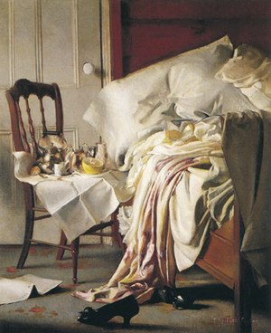 Elizabeth Okie Paxton - The Breakfast Tray, circa 1910, private collection