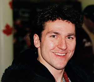 Elvis Stojko - Stojko at Canada House during the 2002 Winter Olympics