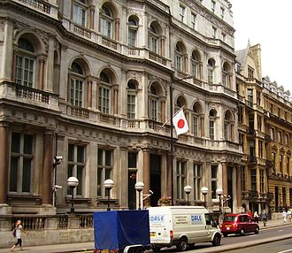Japanese community of London - Embassy of Japan, London