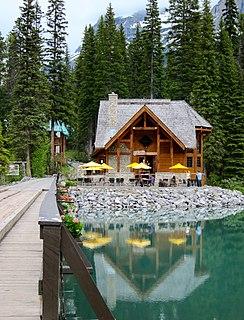 Emerald River river in Canada