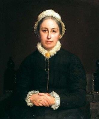 Emily Davies - Emily Davies portrait by Rudolph Lehmann, 1880