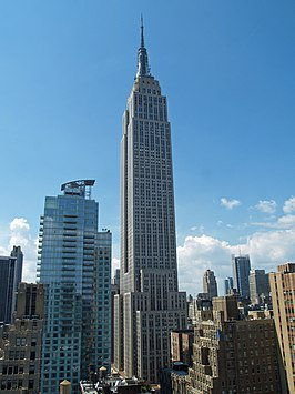 Het Empire State Building in augustus 2007