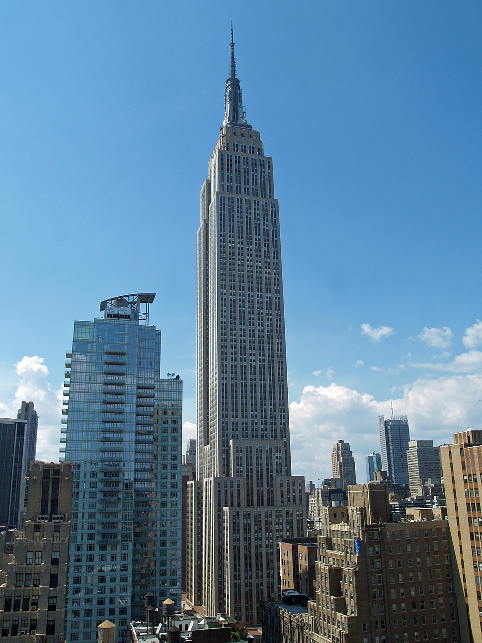 The Empire State Building was the world's tallest building from 1931 to 1972, and the city's tallest from 2001 to 2014.