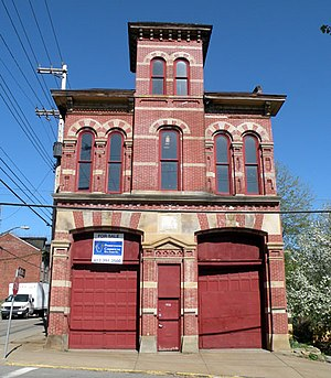 Central Northside (Pittsburgh) - Image: Engine Company No 3