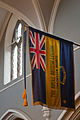 Enniskillen Cathedral of St. Macartin The Royal British Legion Standard of the Enniskillen Branch 2012 09 17.jpg