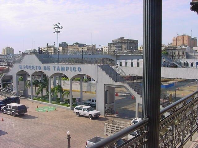 Entrada al Puerto de Tampico México