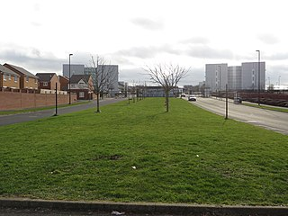 Benton Park View multi-agency site in England