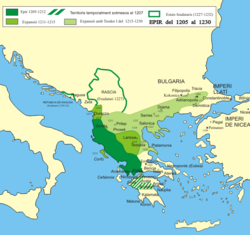 Despotate of Epirus in 1205 - 1230