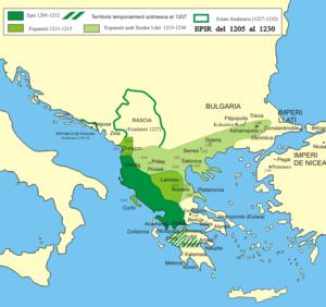 Το Δεσποτάτο της Ηπείρου από το 1205 έως το 1230