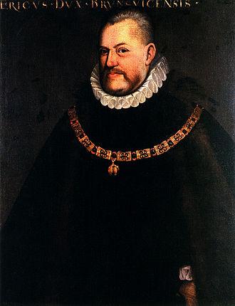 Eric II, Duke of Brunswick-Lüneburg - Eric II, Duke of Calenberg