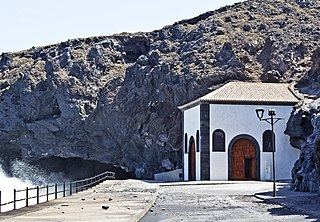 Cave of Achbinico Church and cave located in Canary Islands