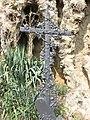 Ermitage du Mont Cindre - Croix jardin de prière (août 2019).jpg