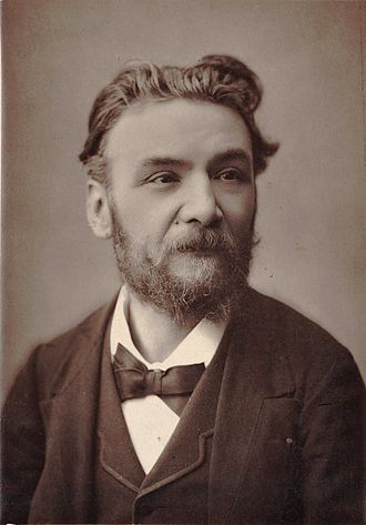 Ernest Guiraud - Ernest Guiraud, photograph by G. Camus, ca. 1890.