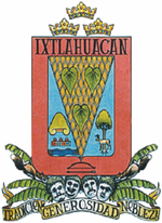 Coat of arms of Ixtlahuacán