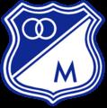 Escudo de Millonarios temporada 1993-1999.png
