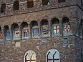 Escuts a la façana del Palazzo Vecchio, Florència.JPG