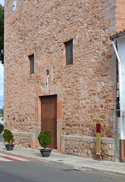 File:Església de la Mare de Déu dels Àngels de Torres Torres. façana.JPG - Wi...