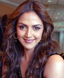 Esha Deol - (born 2 November 1981) is an Indian film actress and model who predominantly appears in Hindi films. The daughter of actor-politicians Dharmendra and Hema Malini, Deol made her debut in Koi Mere Dil Se Poochhe (2002), which earned her awards and nominations including the Filmfare Award for Best Female Debut.  IMAGES, GIF, ANIMATED GIF, WALLPAPER, STICKER FOR WHATSAPP & FACEBOOK