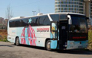 Eskişehirspor (women) - Club bus of Eskişehirspor.