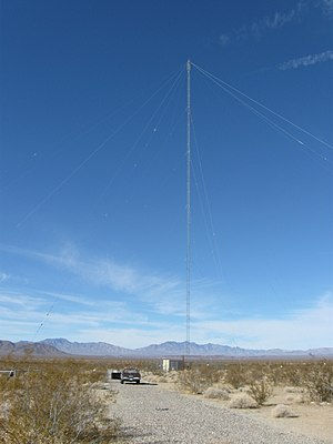 AN/URC-117 Ground Wave Emergency Network - Image: Essex, CA GWEN site 1