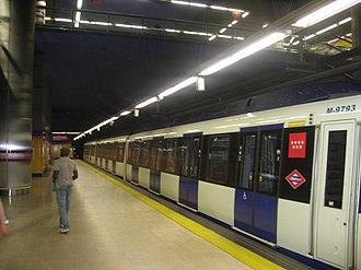 La Rambla (Madrid Metro) - Image: Estacion La Rambla