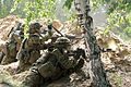 Estonian soldiers provide suppressive fire during an attack as part of Saber Strike 2013 June 7, 2013, in Adazi, Latvia 130607-O-ZZ999-004.jpg