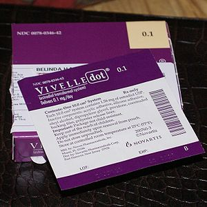 Vivelle-dot, an estrogen patch.