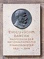 Eugen von Böhm-Bawerk (Nr. 8) Bust in the Arkadenhof, University of Vienna-1330-Bearbeitet.jpg