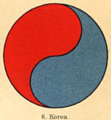 Eum-yang symbol of the Korean Empire (De Rode Leeuw).png