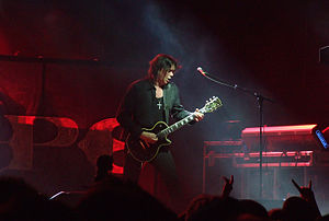 John Norum - Norum performing with Europe in Festivalna hall, Sofia 2012.