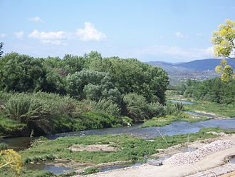 Sparta (modern) - Eurotas (river) outside the city of Sparta.