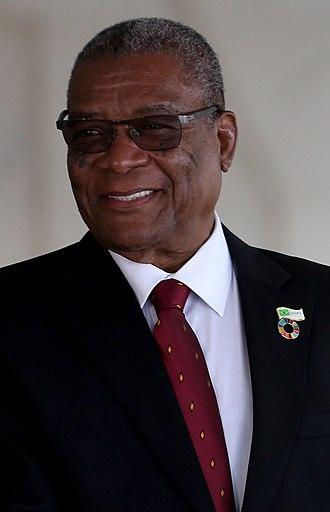 2011 São Toméan presidential election - Image: Evaristo Carvalho 2016